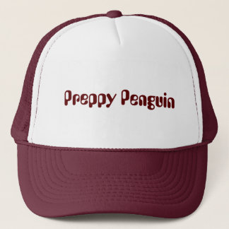 Preppy Penguin Trucker Hat
