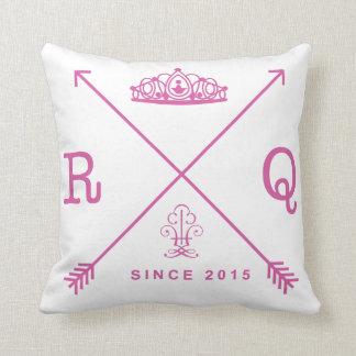 Preppy rodeo queen pillow
