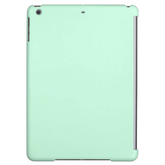 preppy spring color pastel seafoam green mint iPad air covers