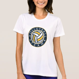 Preppy Volleyball Team Competitions. T-Shirt