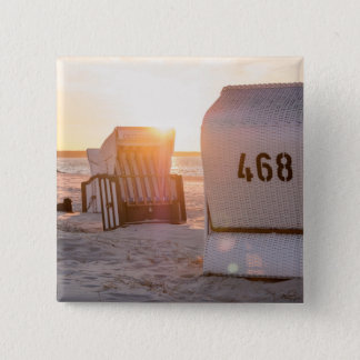 Prerow sunset 2 inch square button