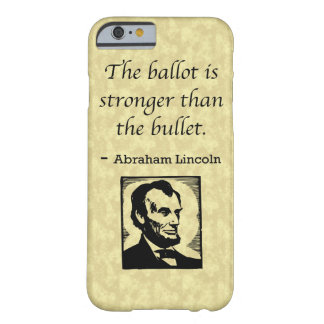 PRES16 BALLOT BULLET BARELY THERE iPhone 6 CASE
