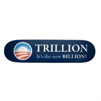 PRES44 NEW BILLION SKATEBOARD DECK