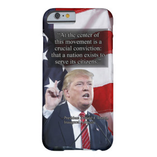 PRES45 CRUCIAL CONVICTION BARELY THERE iPhone 6 CASE