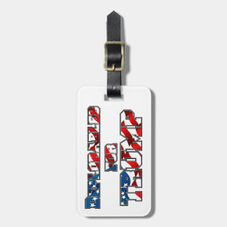 PRES45 DEPLORABLES FOR TRUMP LUGGAGE TAG