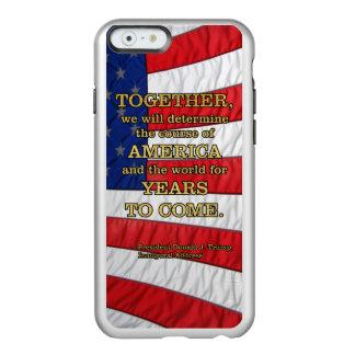 PRES45 DETERMINE COURSE INCIPIO FEATHER® SHINE iPhone 6 CASE