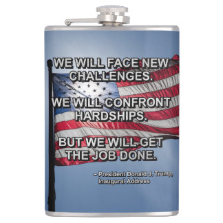 PRES45 FACE CHALLENGES FLASK