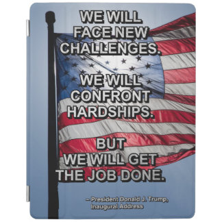 PRES45 FACE CHALLENGES iPad COVER