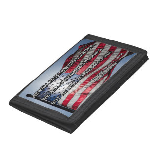 PRES45 FACE CHALLENGES TRI-FOLD WALLET
