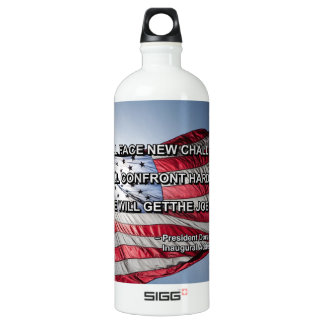 PRES45 FACE CHALLENGES WATER BOTTLE