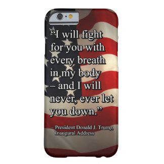 PRES45 FIGHT FOR YOU BARELY THERE iPhone 6 CASE