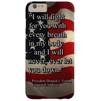 PRES45 FIGHT FOR YOU BARELY THERE iPhone 6 PLUS CASE
