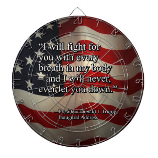PRES45 FIGHT FOR YOU DARTBOARD