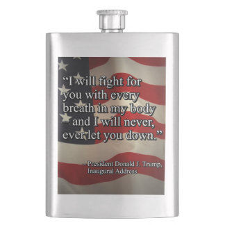 PRES45 FIGHT FOR YOU FLASK