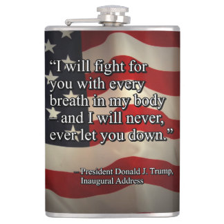 PRES45 FIGHT FOR YOU HIP FLASK