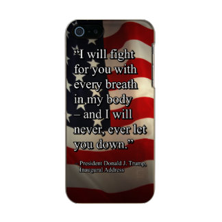 PRES45 FIGHT FOR YOU INCIPIO FEATHER® SHINE iPhone 5 CASE