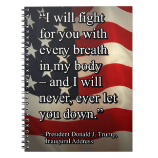 PRES45 FIGHT FOR YOU NOTEBOOK