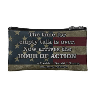 PRES45 HOUR OF ACTION COSMETIC BAG