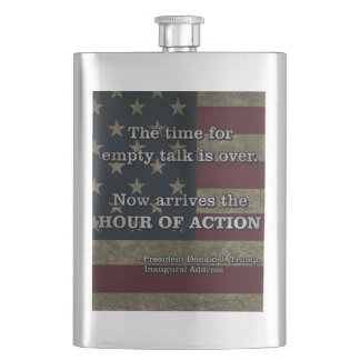 PRES45 HOUR OF ACTION HIP FLASK