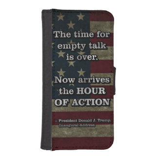 PRES45 HOUR OF ACTION iPhone SE/5/5s WALLET CASE