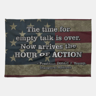 PRES45 HOUR OF ACTION KITCHEN TOWEL