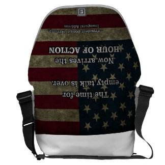 PRES45 HOUR OF ACTION MESSENGER BAG