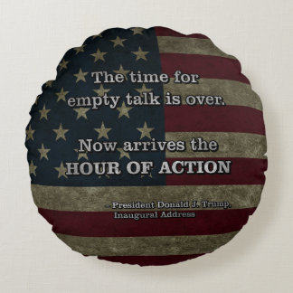 PRES45 HOUR OF ACTION ROUND PILLOW