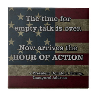 PRES45 HOUR OF ACTION TILE