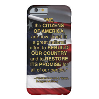 PRES45 NATIONAL EFFORT BARELY THERE iPhone 6 CASE