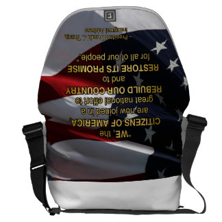 PRES45 NATIONAL EFFORT COURIER BAG