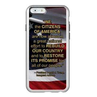 PRES45 NATIONAL EFFORT INCIPIO FEATHER® SHINE iPhone 6 CASE