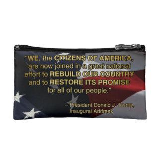 PRES45 NATIONAL EFFORT MAKEUP BAG