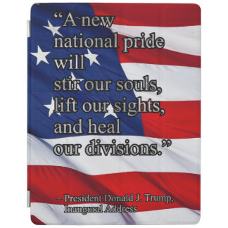 PRES45 NATIONAL PRIDE iPad COVER