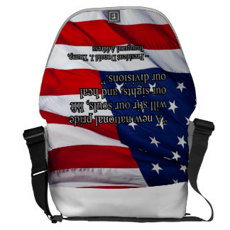 PRES45 NATIONAL PRIDE MESSENGER BAG