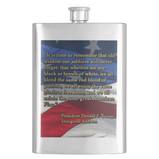 PRES45 OLD WISDOM HIP FLASK