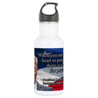 PRES45 OPEN YOUR HEART 532 ML WATER BOTTLE