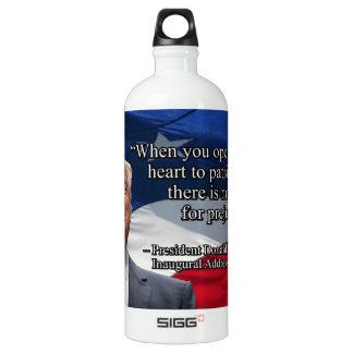 PRES45 OPEN YOUR HEART WATER BOTTLE