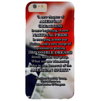 PRES45 RENEWAL OF SPIRIT BARELY THERE iPhone 6 PLUS CASE