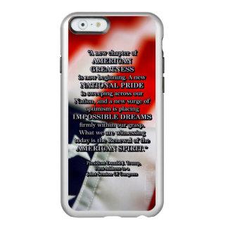 PRES45 RENEWAL OF SPIRIT INCIPIO FEATHER® SHINE iPhone 6 CASE