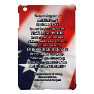 PRES45 RENEWAL OF SPIRIT iPad MINI COVER