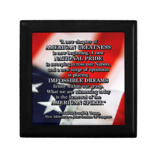PRES45 RENEWAL OF SPIRIT KEEPSAKE BOX