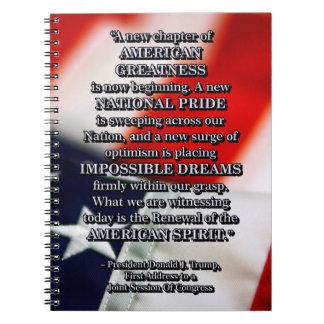 PRES45 RENEWAL OF SPIRIT NOTEBOOK