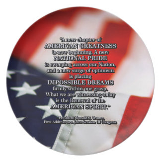 PRES45 RENEWAL OF SPIRIT PARTY PLATE