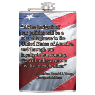 PRES45 TOTAL ALLEGIANCE FLASK