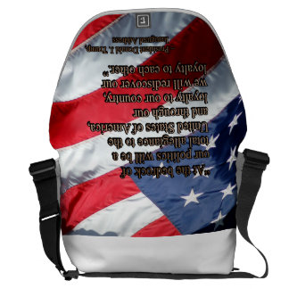 PRES45 TOTAL ALLEGIANCE MESSENGER BAGS