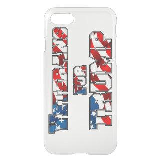 PRES45 VETARANS FOR TRUMP iPhone 7 CASE