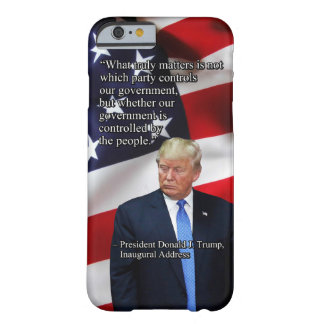 PRES45 WHAT TRULY MATTERS BARELY THERE iPhone 6 CASE