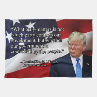 PRES45 WHAT TRULY MATTERS KITCHEN TOWEL
