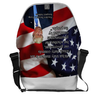 PRES45 WHAT TRULY MATTERS MESSENGER BAG