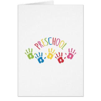 Preschool Card
